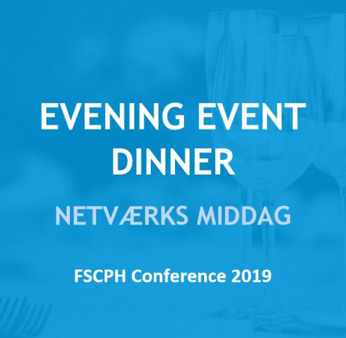 Evening event dinner
