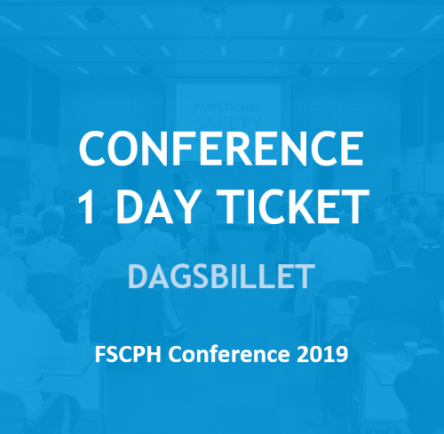 Conference one day ticket