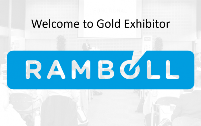 Ramboll gold exhibitor at the functional safety conference