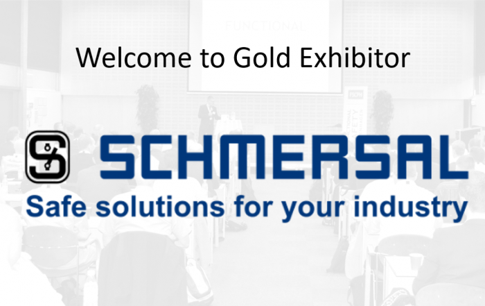 Schmercal gold exhibitor at the functional safety conference